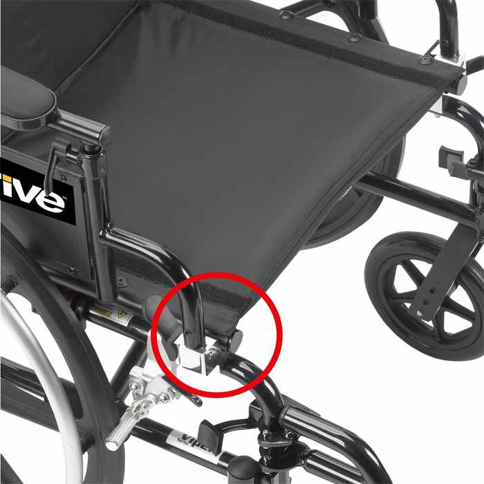 Drive Medical viper aluminum lightweight wheelchair