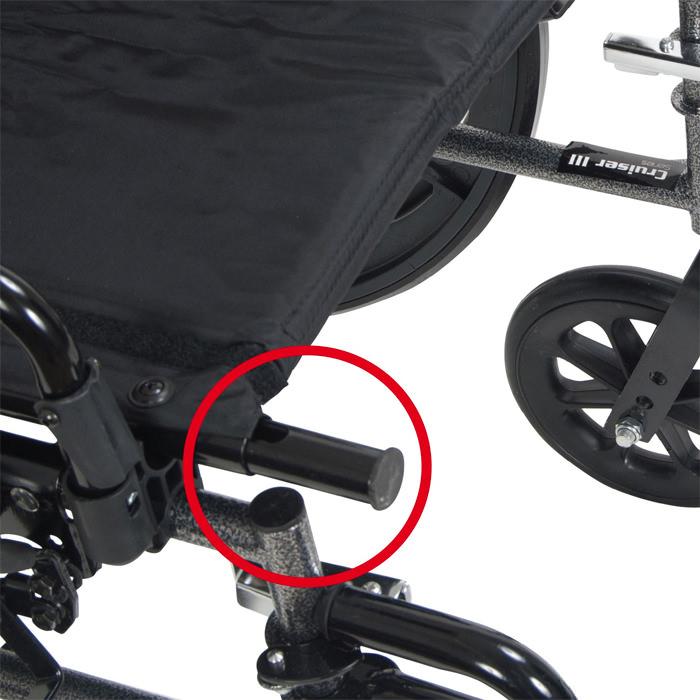Drive Medical reclining wheelchair
