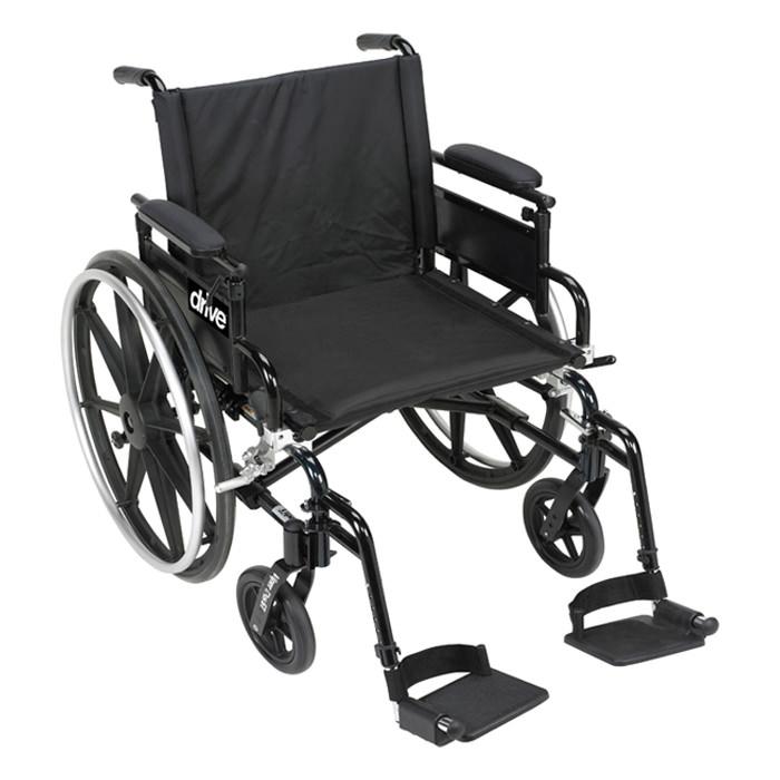 """Drive Medical viper plus GT 22"""" wheelchair"""