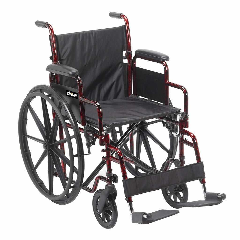 Drive Medical rebel lightweight manual wheelchair