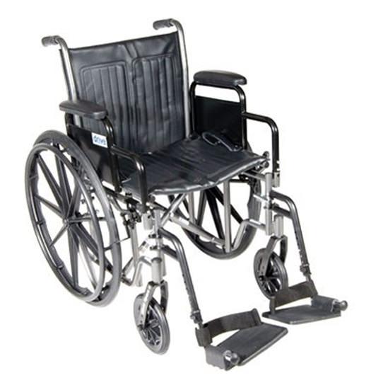 Drive Medical silver sport 2 dual axle manual wheelchair