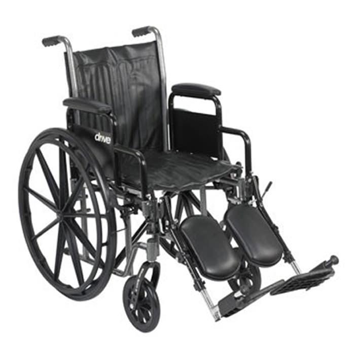 Drive silver sport 2 dual axle wheelchair