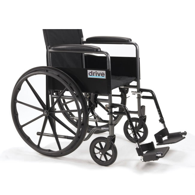 Drive Medical silver sport 1 self propel wheelchair