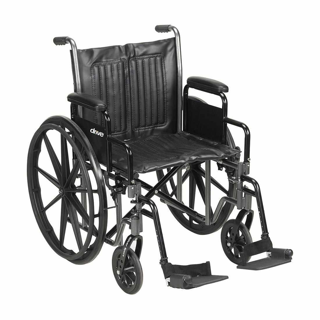 Drive Medical Silver Sport VI heavy duty wheelchair