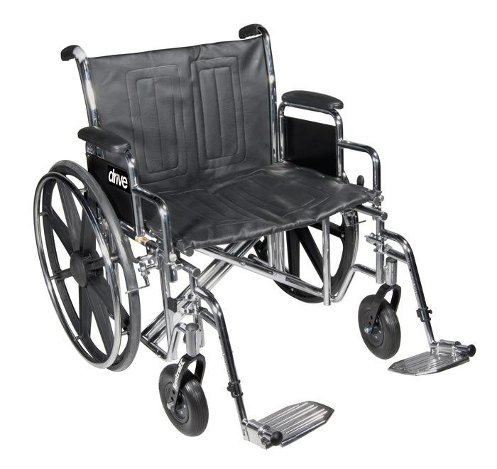 Drive Medical bariatric sentra EC heavy duty wheelchair