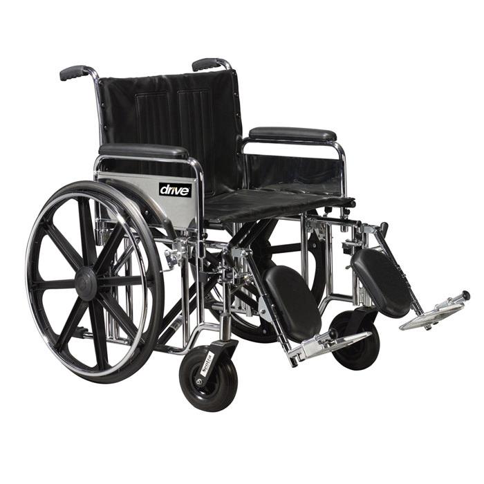 Drive Medical bariatric sentra extra heavy-duty wheelchair