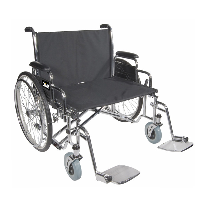 Drive Medical bariatric sentra EC heavy-duty, extra, extra wide wheelchair