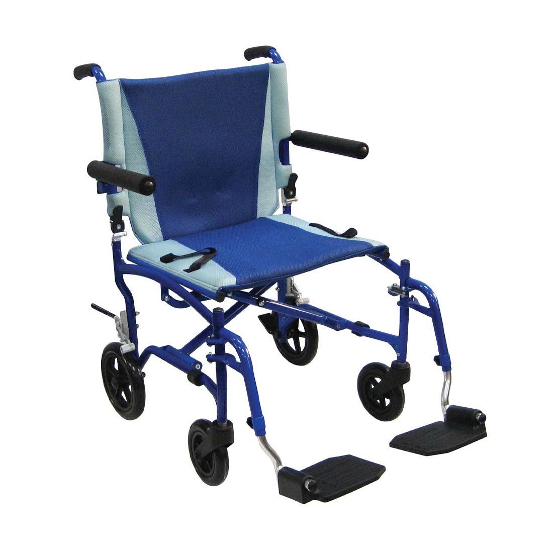 Drive Medical TranSport aluminum wheelchair