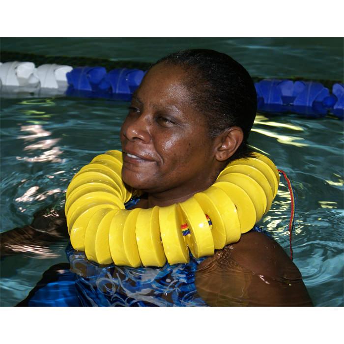 Danmar swim rings with user