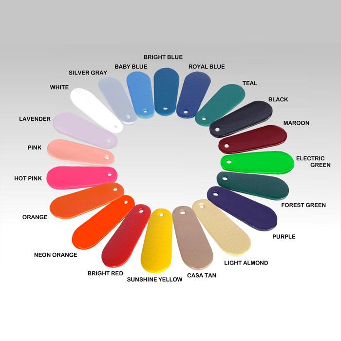 Danmar combination head float & stabilizer bar color chart
