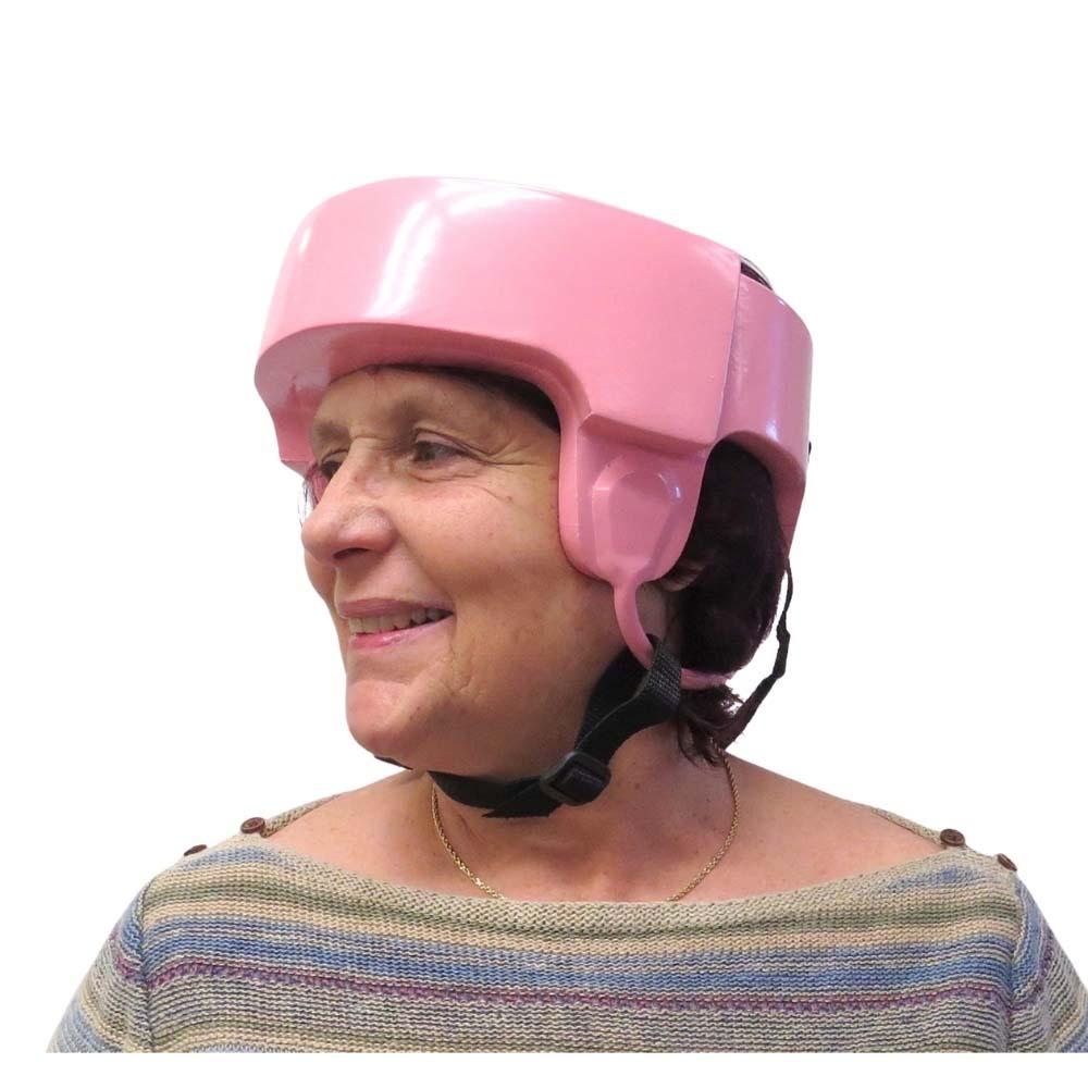 Danmar Halo helmet with client