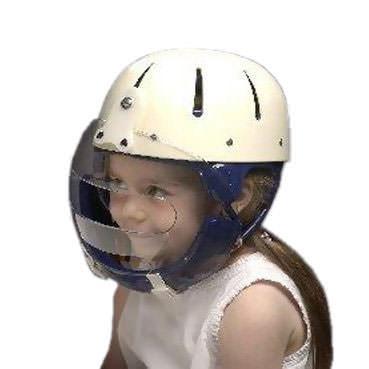 Danmar helmet with faceguard