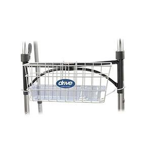 Drive Medical Walker Basket with White Insert, Universal