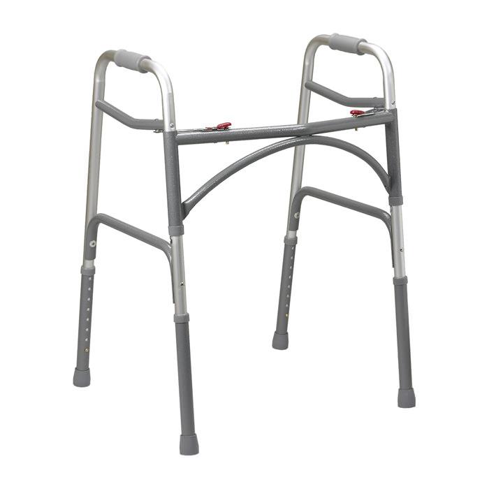 Drive Medical bariatric aluminum folding walker