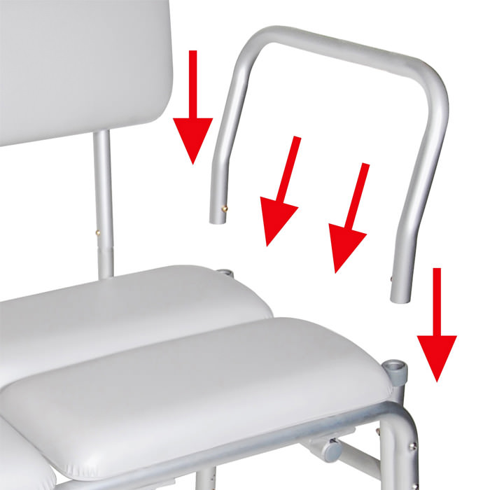 Drive Medical padded transfer bench