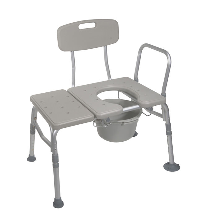Drive Medical combination transfer bench/commode