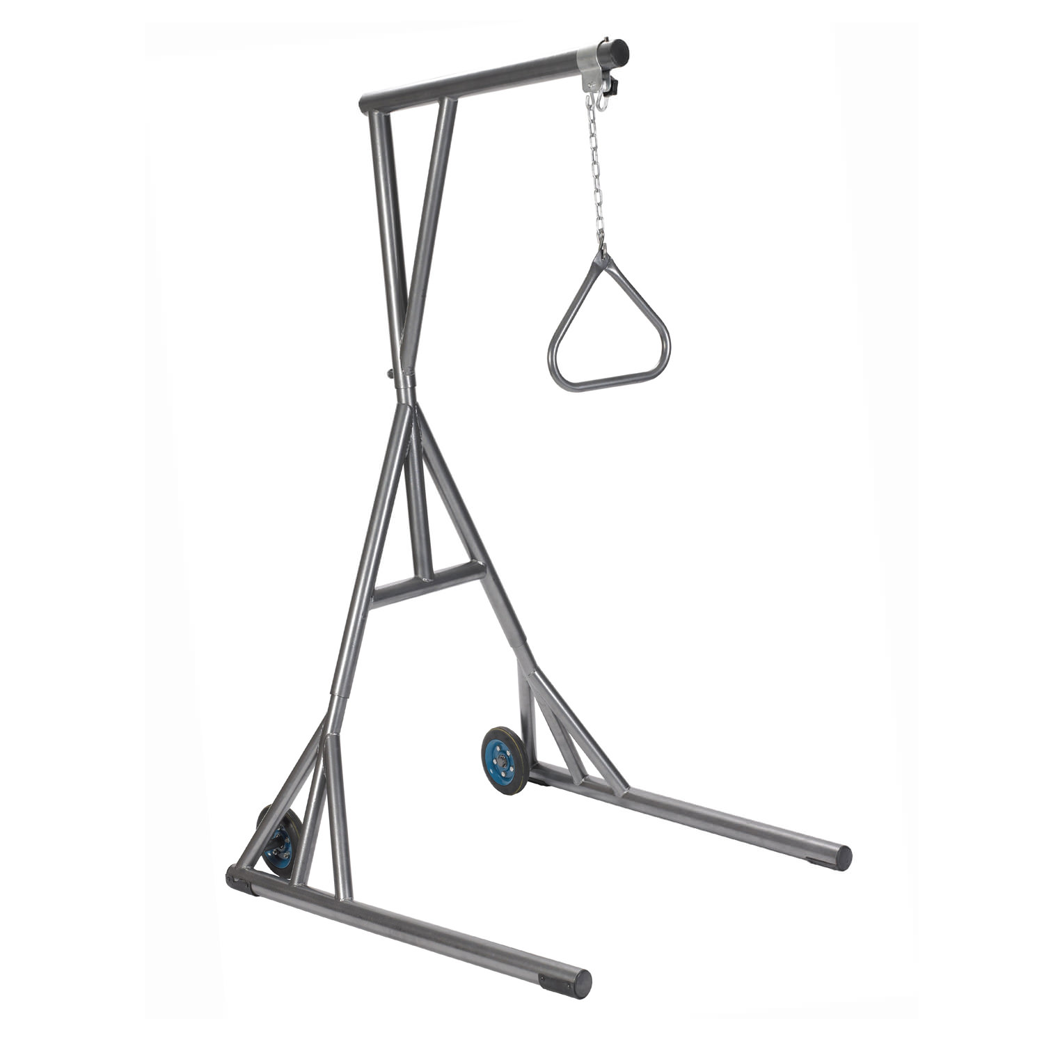 Drive Medical free standing silver vein trapeze with base and wheels