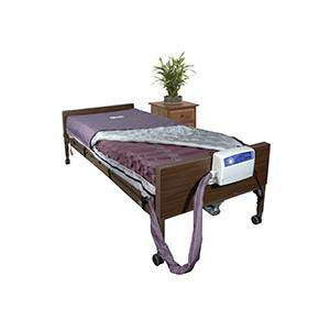 """Drive Med Aire Alternating Pressure and Low Air Loss Mattress System, 80""""L x 36""""W x 8""""H"""