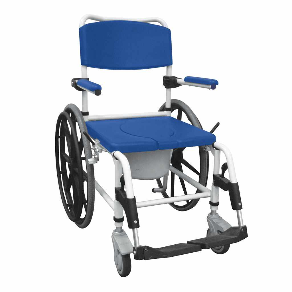 Drive Rehab Aluminum Shower Commode Mobile Chair