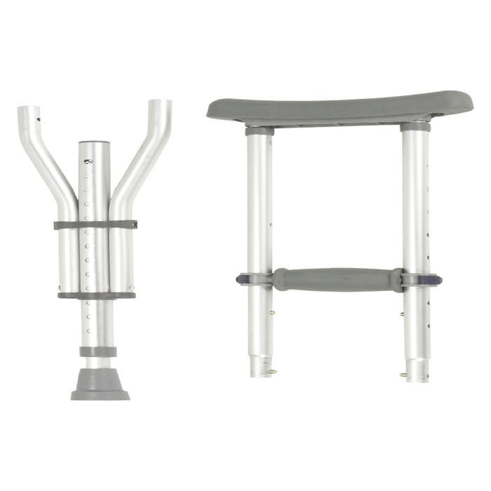 Drive Medical universal aluminum underarm crutches