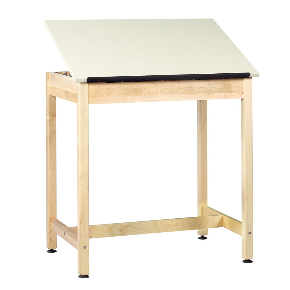 Diversified Woodcrafts One-Piece Adjustable Table