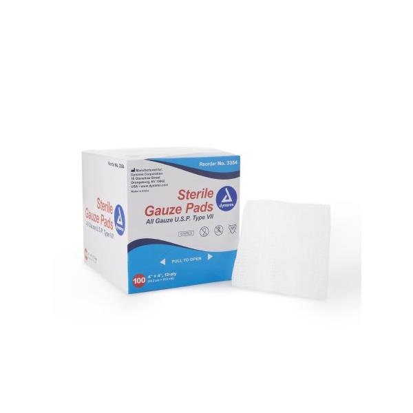 "Dynarex Self-adhering Gauze Pad 4"" x 4"""