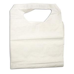 Dynarex Disposable Poly/Tissue Bib 16 x 23 Inch
