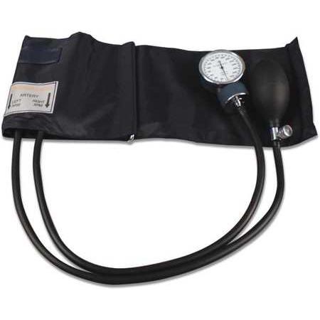 "Dynarex Aneroid Sphygmomanometer 2-Tube Adult Arm, Palm Style, Adult, 20"""