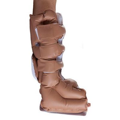 EHOB Reusable Foot WAFFLE Heel Protector Boot, Large