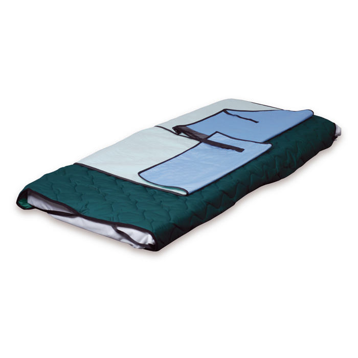"""Immedia TwinSheet down incontinence system with absorbing pad, 59.1"""" W x 33.5"""" L"""