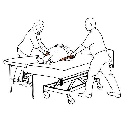 MiniBoard transfer stretcher