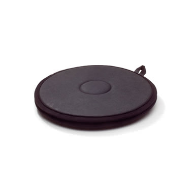 "Immedia PediTurn soft, swivel cushions for floor, black, 15.7"""