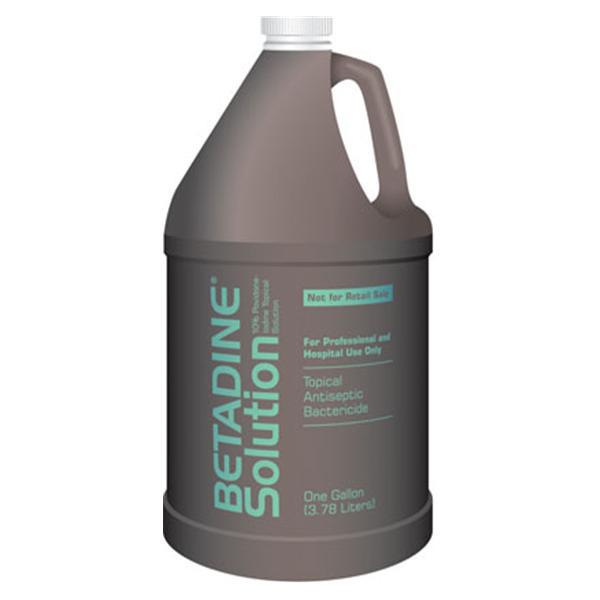 Emerson Betadine Antiseptic Solution, 10% Povidone-Iodine, 1 Gallon Bottle