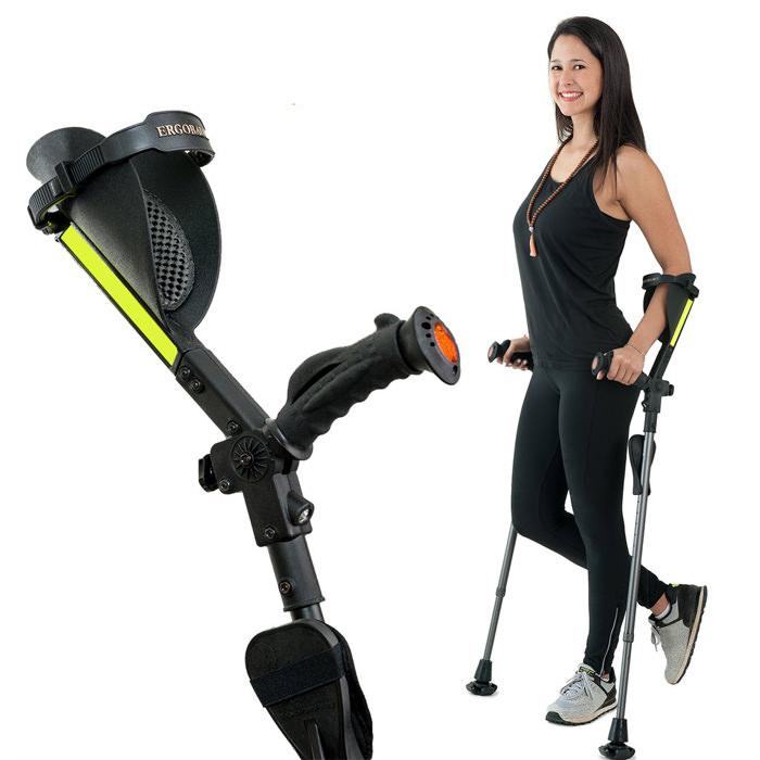 Ergoactives 7G Forearm Crutches   Ergoactives Ergobaum Crutches