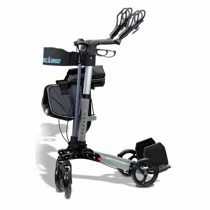 Ergoactives Roller-Go Double Foldable Walker