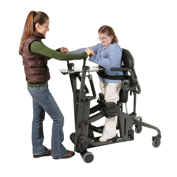 Glider medium stander with active standing technology