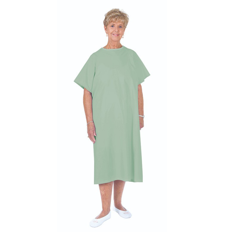 Essential Medical Standard Patient Gown, Mint