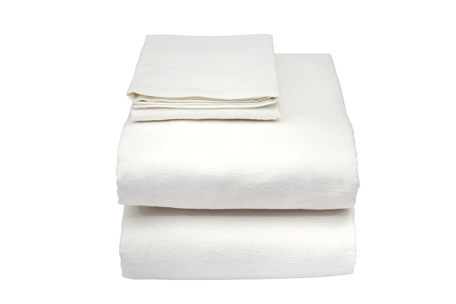 Essential Medical Fitted Hospital Bed Sheet, 36 Inch x 80 Inch x 9 Inch, White