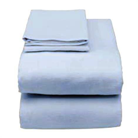 Essential Medical Hospital Bed Sheet Set, Light Blue