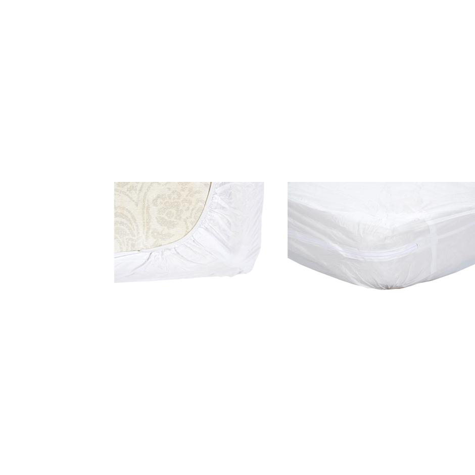 Essential Medical Zippered Home Bed Size Mattress Protector