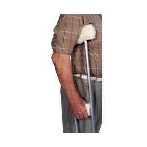 Essential Medical Supply Sheepette Crutch Cover Set