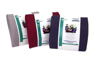 Essential Medical Lumbar Cushion, 14 Inch W x 13 Inch H