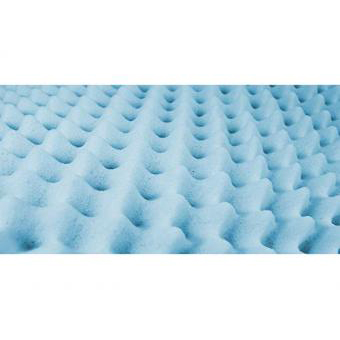 Essential Medical Convoluted Foam Hospital Bed Pad, 4 Inch Thick, 33 x 76 Inch