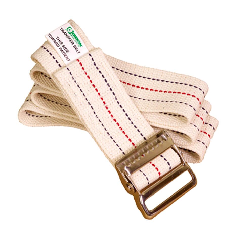 Essential Medical Standard Gait Belt with Metal Buckles