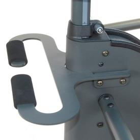 Easystand transport handle for strapstand