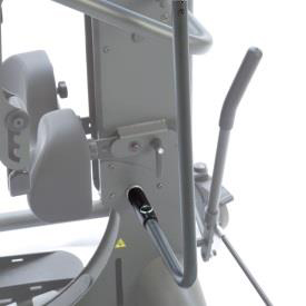 Easystand removable actuator handle for strapstand