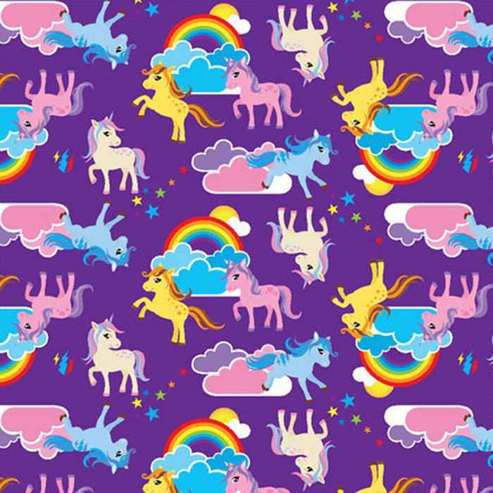 Hygienic cover - Rainbow unicorn