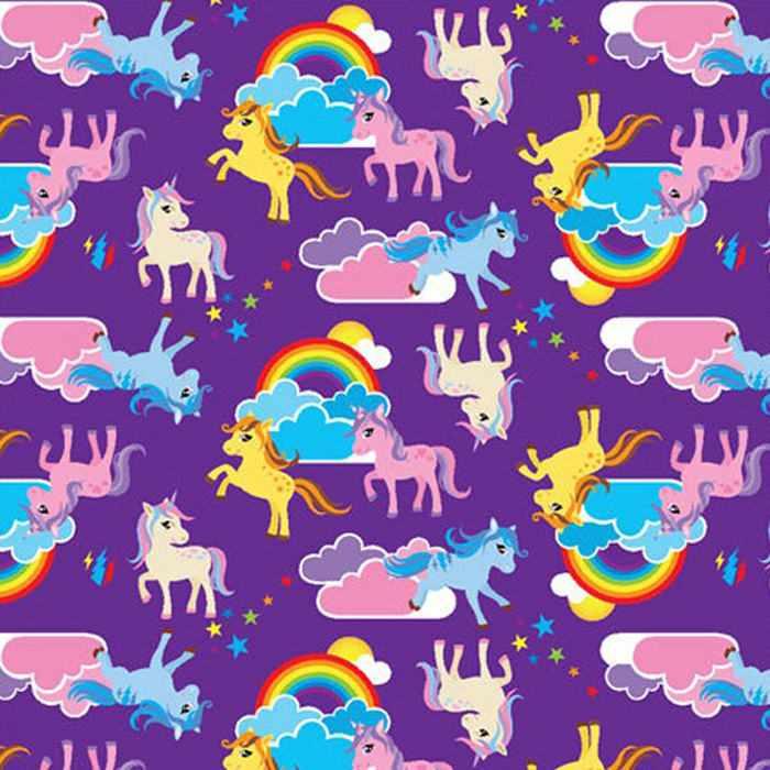 Hygienic cover - Rainbow unicorn
