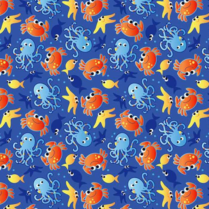 Hygienic cover - Sea creatures