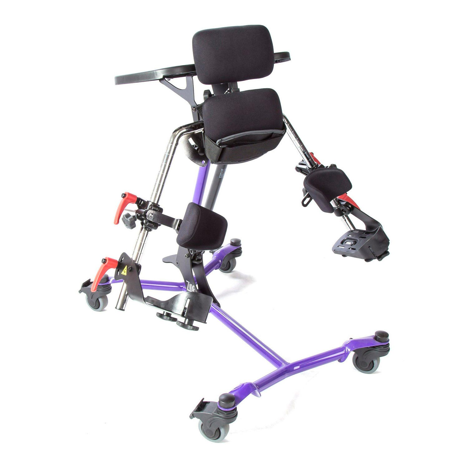 Zing prone stander - Mast with leg abduction